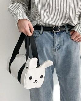 Sweet Lolita Bag Bunny Canvas Cross Body Bag