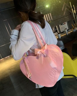 Sweet Lolita Heart Shaped Bows Lolita Cross Body Bag