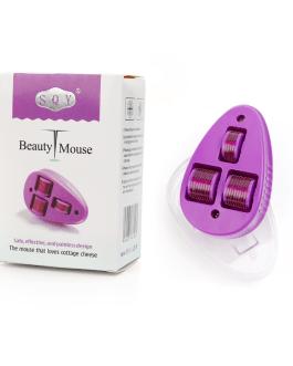 3 In 1 Mouse Shape Micro Needles Facial Derma Roller