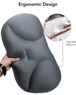 3pcs/lot Ergonomic 3D Massage Pillow