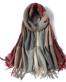 Fashion luxury scarves tassel wrap shawl