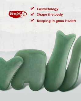 Jade Stone Massager Tool Acupuncture SPA Therapy