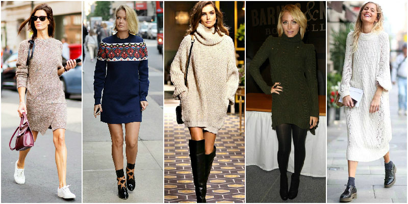 Read more about the article The Sweater Dresses You Need For Cold Days
