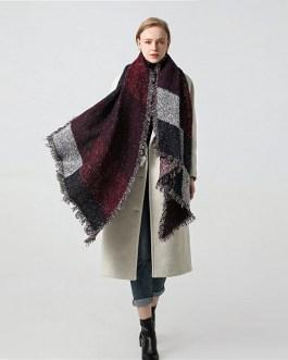 Design Thick Cashmere Warm Neck Scarves