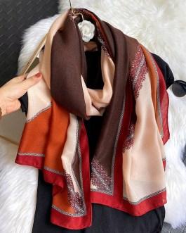 Fashion Colorblock Neck Scarves