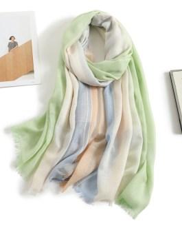 Fashion Foulard Warm Multicolor Plaid Scarf