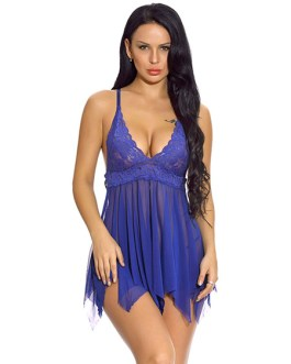 Lace Top Two Piece Sets Sexy Lingerie Babydoll