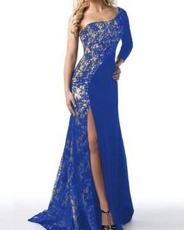Off Shoulder Evening Gown Dress