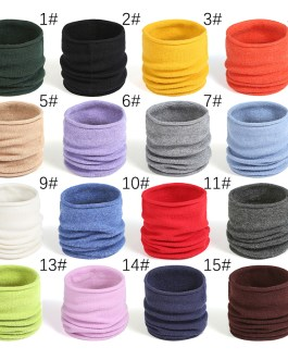 Warm Knitted Collar Ring Neck Scarf