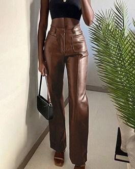 Gothic PU Leather Retro Costumes