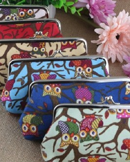 Vintage Long Coin Holders Hasp Wallets And Purse