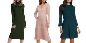 Read more about the article The Cozy Sweater Dresses You Need This Fall Season
