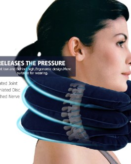 3 Layer Air Cervical Inflatable Neck Therapy Health Care Massager
