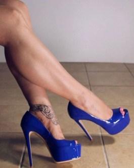 Sexy Shoes Platform Peep Toe Stiletto Heels High Heels