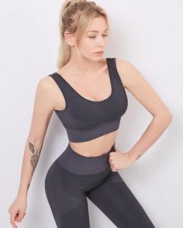 Athletic Two Piece Set Workout Gym Yoga Set