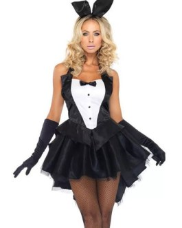 Costume One Piece Dress Headwear Gloves 3-Piece Set Polyester Adults Halloween Costumes