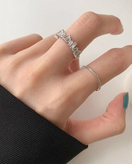 Crystal Ring Fashion Simple Gorgeous Sweet Jewelry
