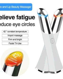 Face Electric Vibration Eye Massager Heated Sonic Reduce Dark Eye Circle Anti Wrinkle Relieve Fatigue Beauty Product Skin Care