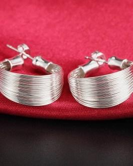 Multi Line Earring Fashion Jewelry