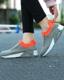Sneakers Polyester Round Toe Low Flat Athletic Shoes