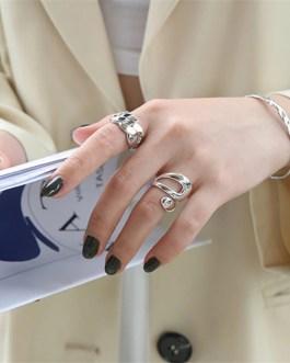 Unique Design Hollow Ring Fashion Trendy Open Jewelry