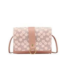 Sweet Flower Print Shoulder Bags