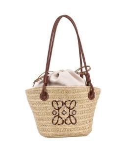 Vintage Weave Pure Bucket Shoulder Bag