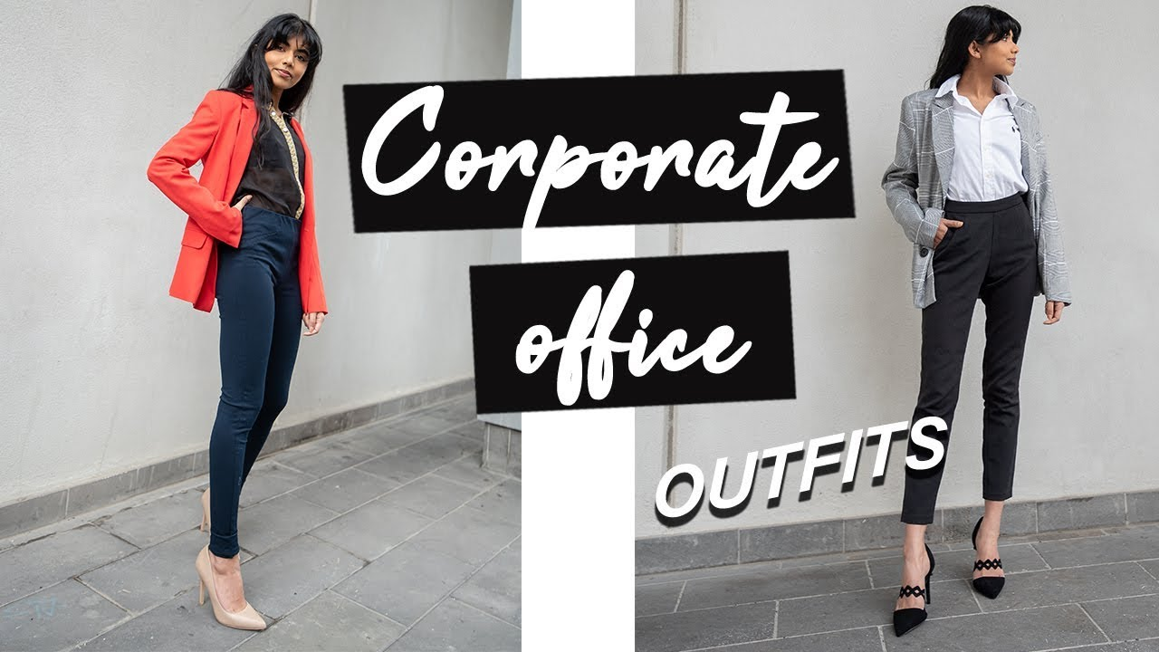 Read more about the article Corporate Office Outfit Ideas !
