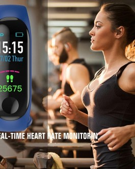M3 Smart Band Bracelet IP67 Waterproof Smartwatch