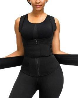 Neoprene Sauna Shaper Waist Vest Sweat Slimming Belt