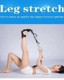 Yoga Flexibility Stretching Leg Stretcher Strap