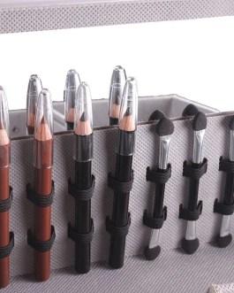 Piano Aluminum Box Multifunctional Cosmetic Tool
