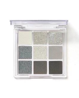 Smoky Makeup Pearlescent Matte Gray Eye Shadows Palette