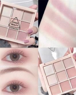 Waterproof Nine Matte Style Eye Pigments Makeup