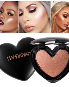 Beauty Makeup Shimmer Pressed Powder Highlight Palette