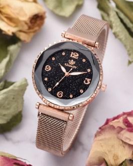 Casual Fashion Starry Sky Magnet Watch Buckle Wrist Watch