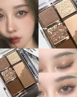 Eye Cosmetic Matte Glitter Shimmer Waterproof Eyeshadow Palette