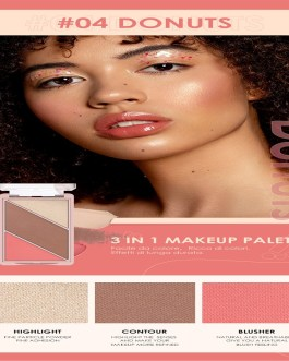 Face Blush Grooming Long-Lasting Highlighter Bronzer Cosmetic