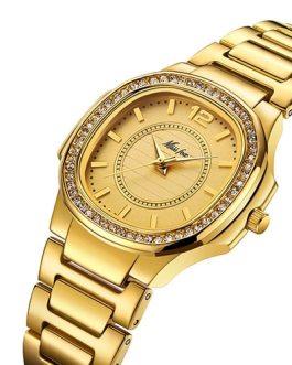 Fashion Elegant Waterproof Quartz Steel Wristwatch