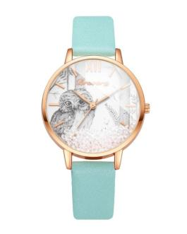 Fashion Removable Rhinestone Stainless Steel Wrist Watch
