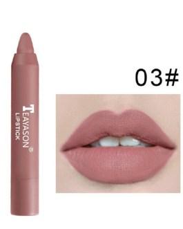 Natural Pen Matte Sexy Makeup Non-Stick Lipstick