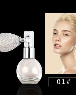 Shiny Glitter Highlighter Makeup Atomiser Bottle Spray