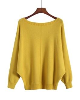 Stripe Loose Casual KNITWEAR Chic Long Sleeve Sweaters