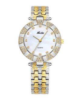 Vintage Elegant Waterproof Stainless Steel Wristwatch
