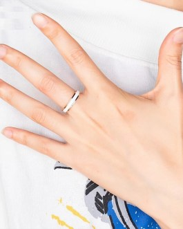 Fashion Charm Ceramic Party Wedding Ring