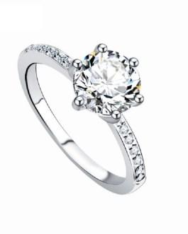 Fashion Crystal Wedding Ring