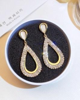 Princess Geometric Drop Earrings