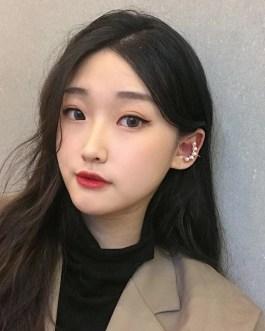 Simple Korean Fashion Ear Cuff Earrings