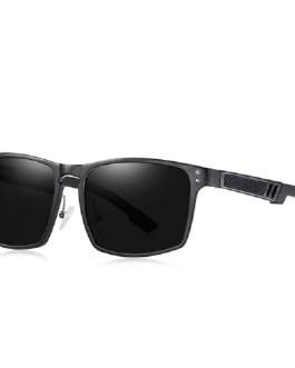Vintage Aluminium Magnesium Square Sunglasses