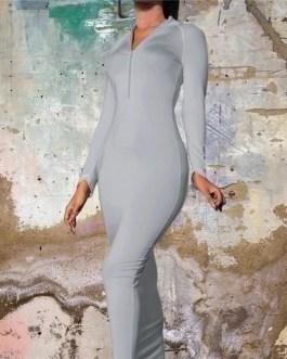 Sexy Bandage Full Sleeve Party Wear Dress